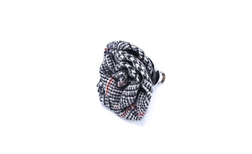 Houndstooth Lapel Pin
