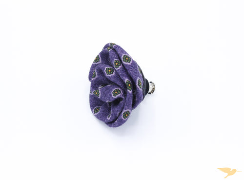 Purple Dot Lapel Pin