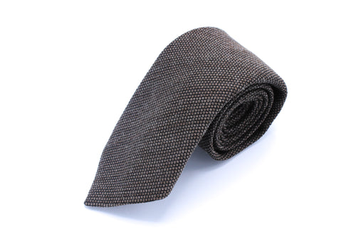 Brown Birdseye Neck Tie