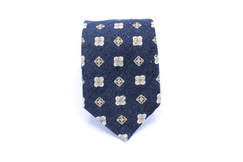 Stamped Pattern Neck Tie
