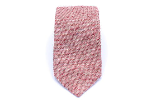 Red Twill Neck Tie