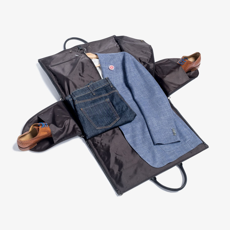 PRE-SALE | MEN'S LEATHER GARMENT WEEKENDER BAG