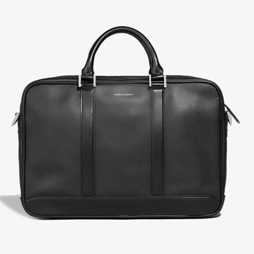 PRE-SALE | BLACK LEATHER FORMAL BRIEFCASE
