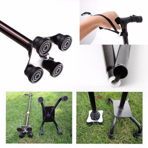 Foldable Walking Cane with LED