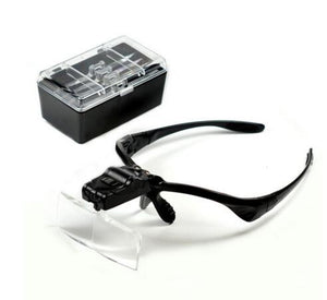 Glass Eye Repair Magnifier with 2 LED Light