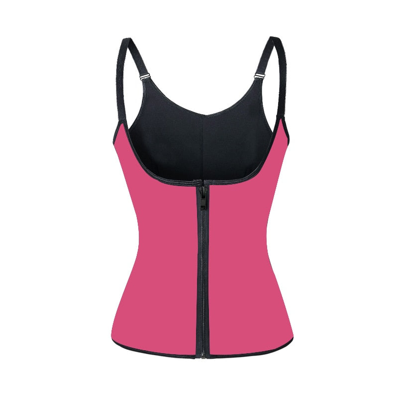 Figure-Enhancing Thermo Trainer Vest