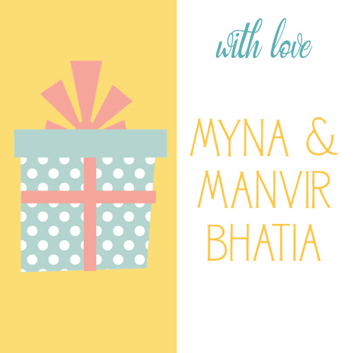 Gift Label - Gift with love