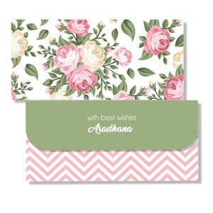 Personalised Money Envelopes - A Rosy Riot