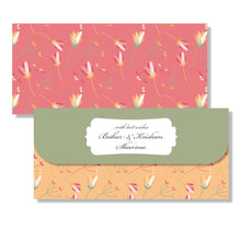 Personalised Money Envelopes - Red Hues