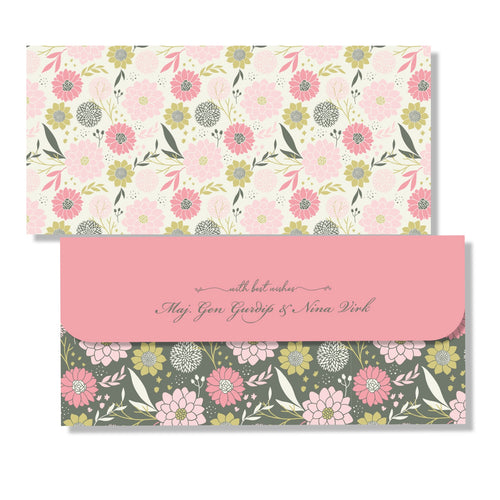 Personalised Money Envelopes - Pretty Please
