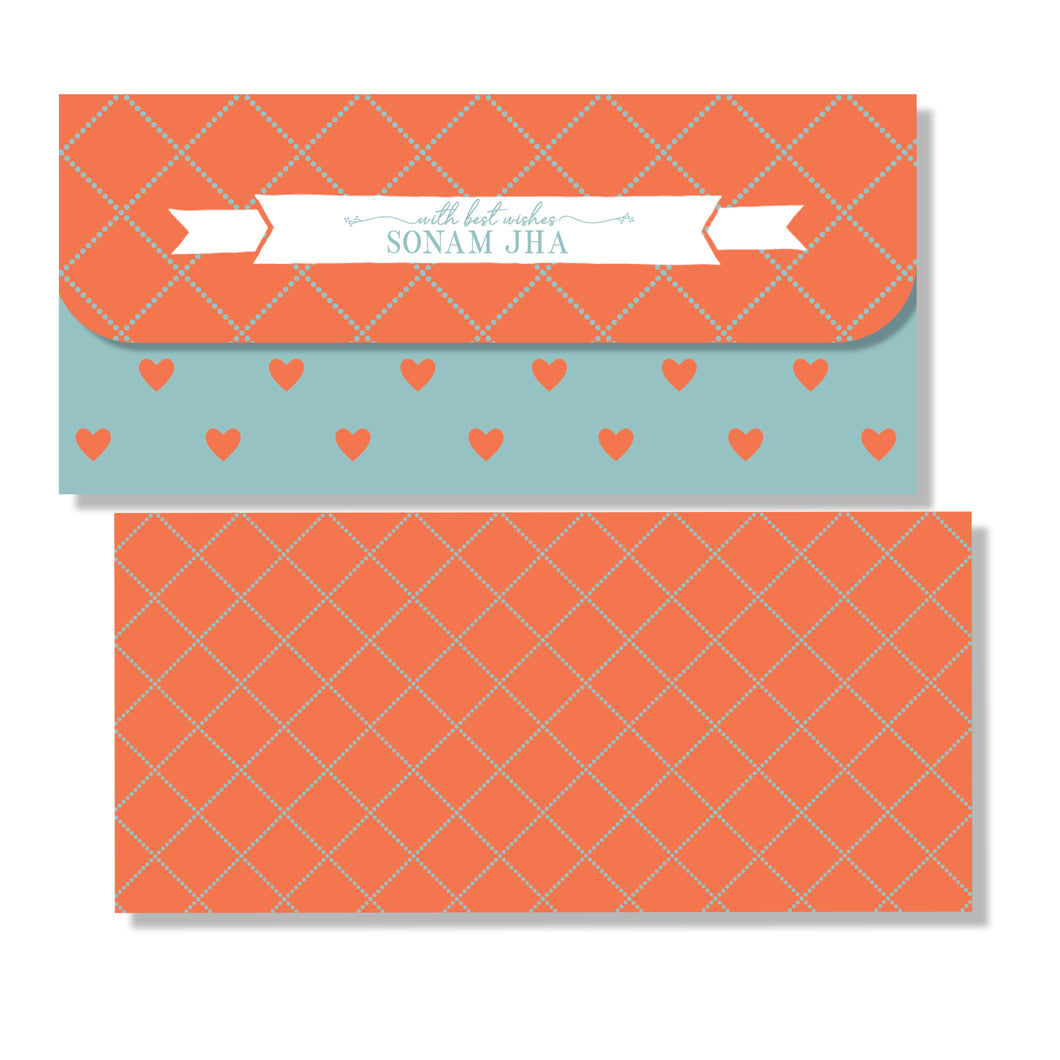 Personalised Money Envelopes - Love Check