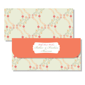 Personalised Money Envelopes - Saffron