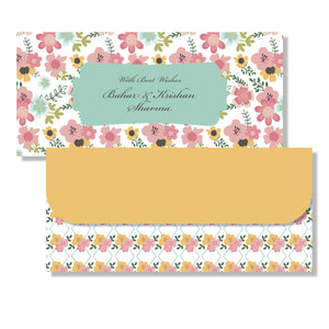 Personalised Money Envelopes - Blossoms