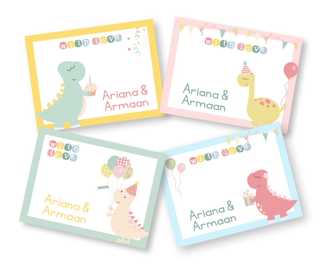 Gift Cards - A Dino Party