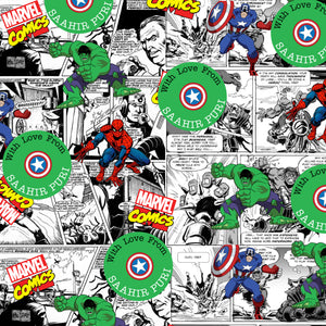 Personalised Wrapping Paper - Avengers