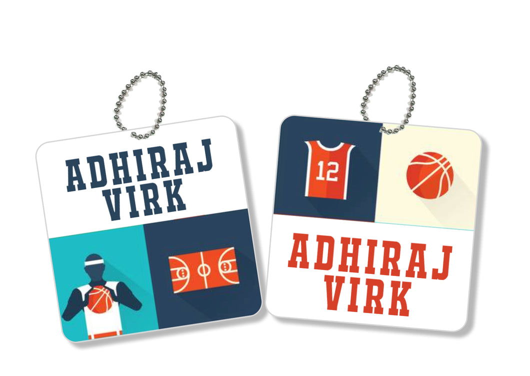 Bag Tags - Basketball