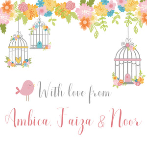 Gift Labels - Bird Cage