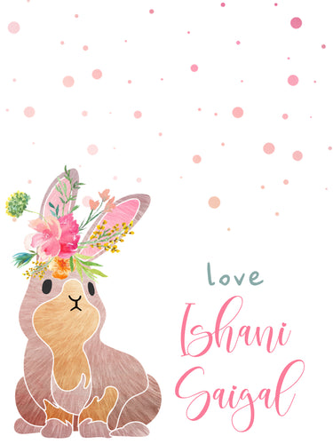 Ribbon Tags - Bunny Love