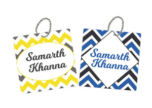 Bag Tags - Chevron
