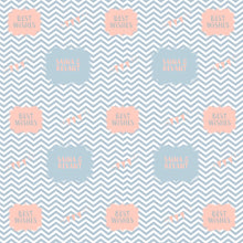 Personalised Wrapping Paper - Chevron