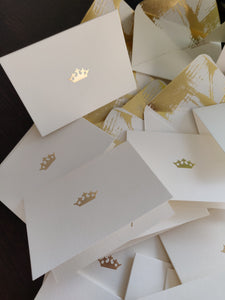 Crown - Personalised Fold Card