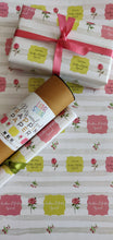 Personalised Wrapping Paper - Roses & Poses