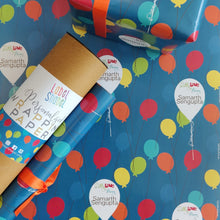 Personalised Wrapping Paper - Balloons