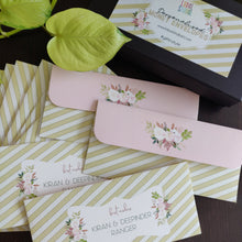 Personalised Money Envelopes - Evergreen