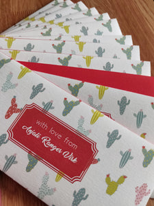 Money Envelopes for Kids - Cute Cactus