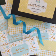 Personalised Money Envelopes - Lemon Hues