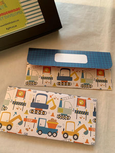 Money Envelopes for Kids - Truckster