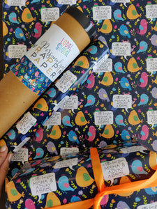 Personalised Wrapping Paper - A little love