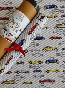 Personalised Wrapping Paper - Vintage Beauty