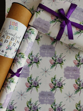 Personalised Wrapping Paper - Lovely Lavender