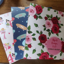 Personalised Folders - Rosy Affair