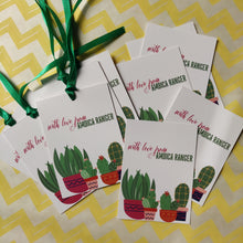 Ribbon Tags - Sweet Cactus