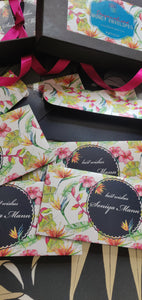Personalised Money Envelopes - Tropical Splendour
