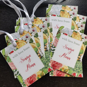 Ribbon Tags - In bloom