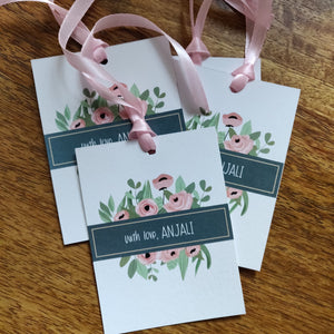 Ribbon Tags - Teal
