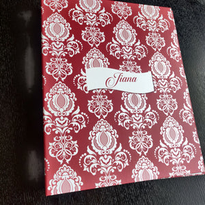 Personalised Folders  - Damask