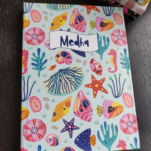 Personalised Note Book -  Ocean Blue