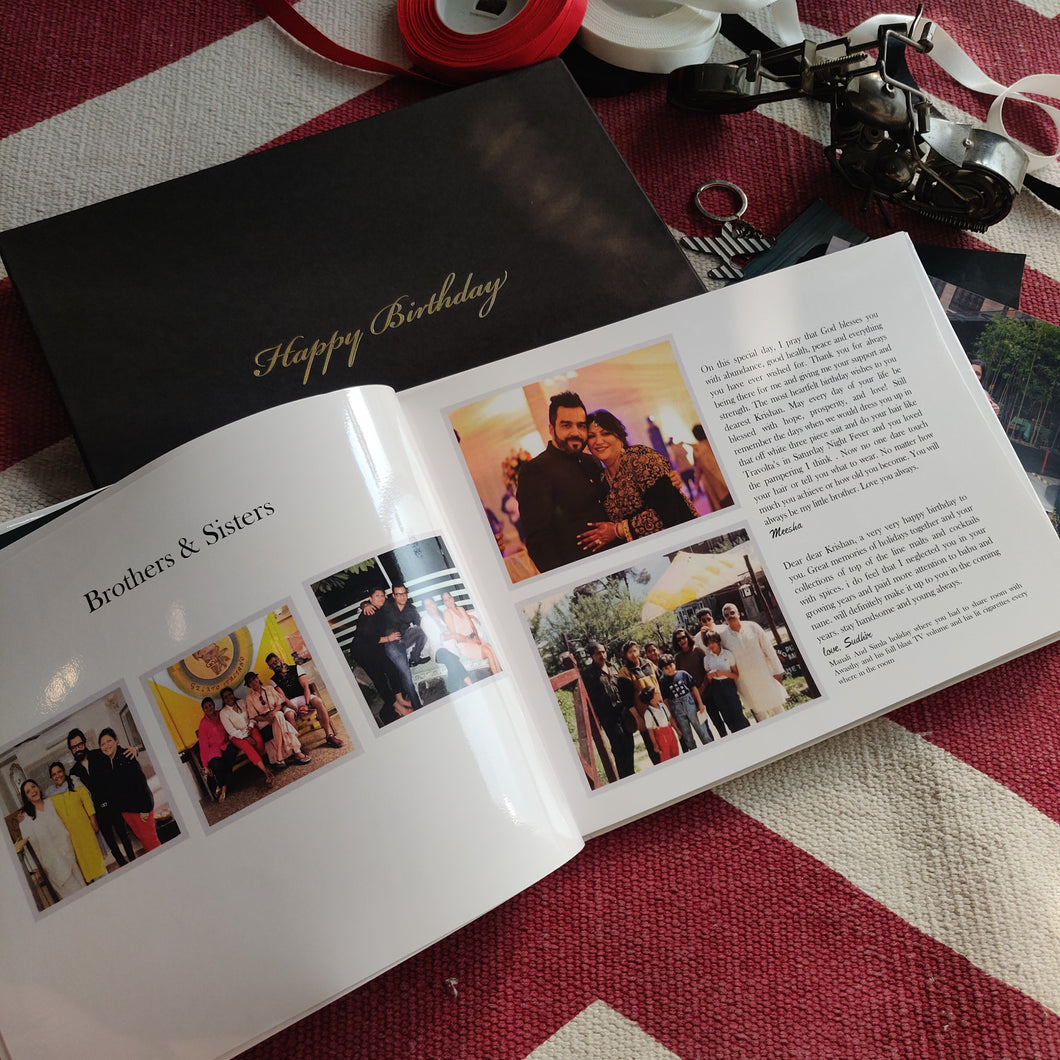 Photo Books - with Messages