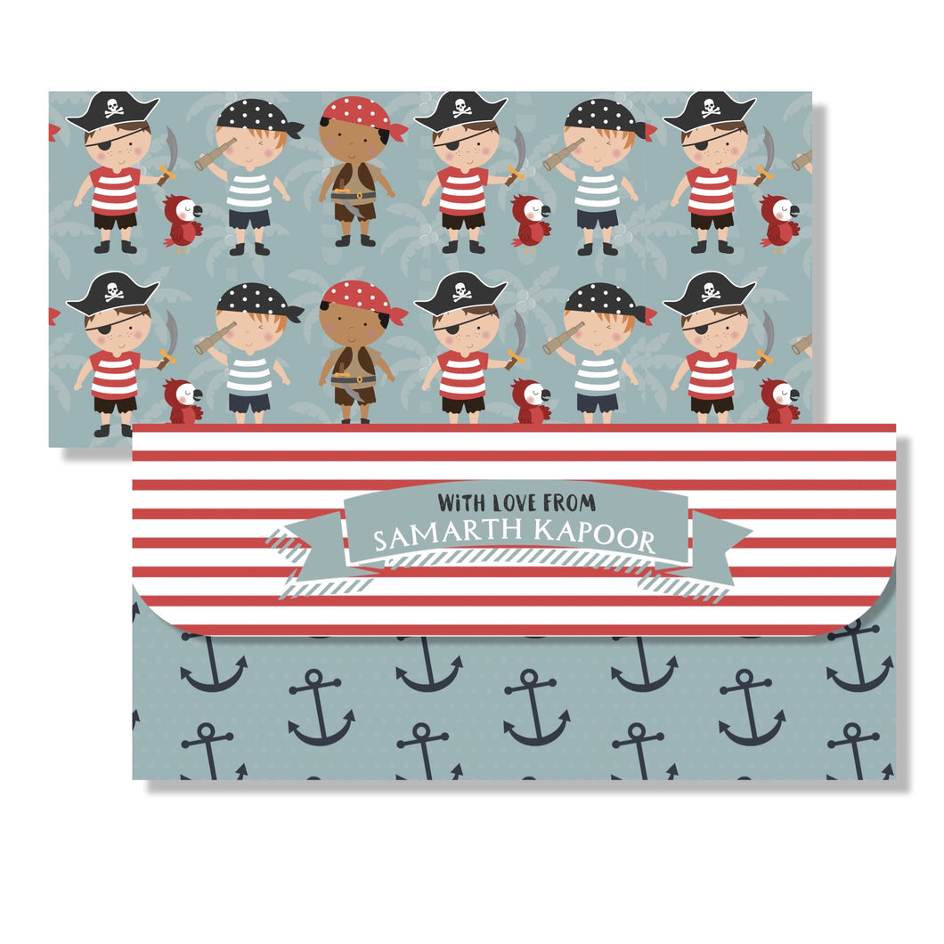 Money Envelopes for Kids - Ahoy Capt