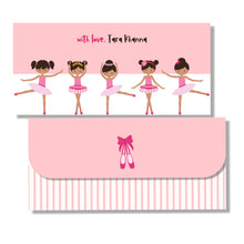 Money Envelopes for Kids - Ballerina