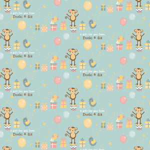Personalised Wrapping Paper - Lil Munchkin