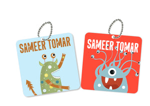 Bag Tags - Monster Love