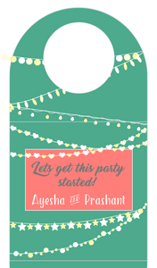 Bottle Tags - Party Lights