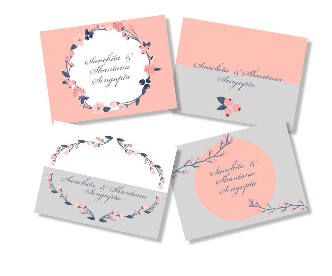 Gift Cards - Peach Blossoms