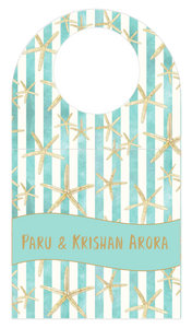 Bottle Tags - Star Fish