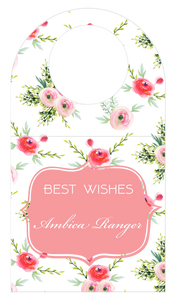 Bottle Tags - Sweet Bouquet